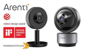 Arenti Dome1 e INDOOR1 - le videocamere di sorveglianza che non ti aspetti!