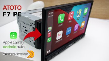 Atoto F7 - Display Touch da 10,1, Linux, Android Auto e Car Play a bordo!