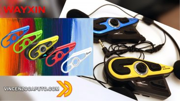 Interfono Auricolare Bluetooth per moto WAYXIN R15