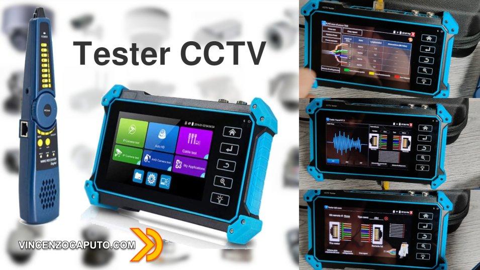 CCTV tester, uno strumento che semplifica la vita dell'installatore