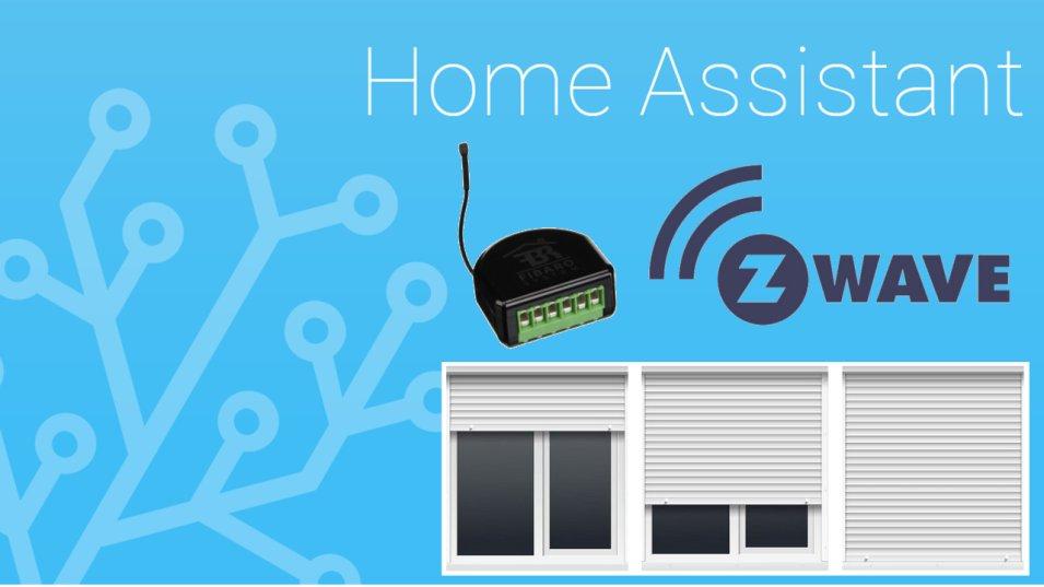 Z-wave per comandare le tapparelle da Home Assistant? Si può fare!