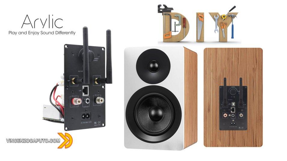 Arylic Plate AMP - come rendere Smart un vecchio altoparlante!