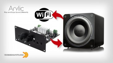 Arylic Up2Stram AMP SUB - e il Subwoofer diventa Wireless!
