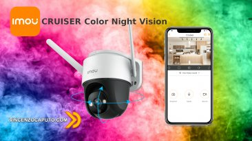 IMOU Cruiser Full Night Color per una perfetta visione notturna