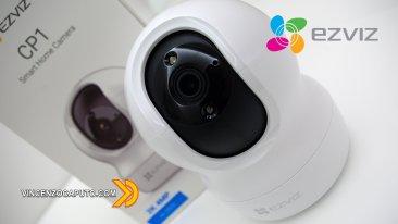 Ezviz CS-CP1 - Una Camera di sorveglianza motorizzata con porta LAN ed RTSP