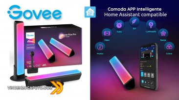 Barre luminose Govee Flow Plus - Home Assistant integration and review
