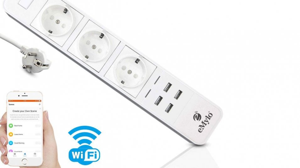 Multipresa Smart WiFi by eMylo - la nostra prova