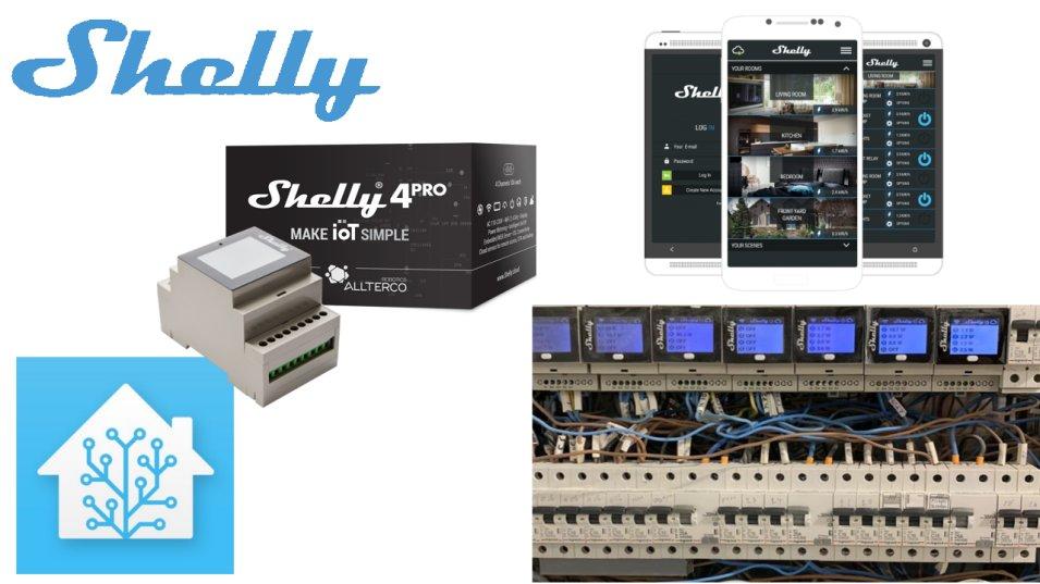Shelly 4PRO - la nostra prova anche con Home Assistant